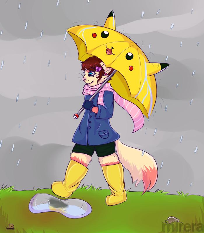 Rain, rain, won't you stay? by Mirera