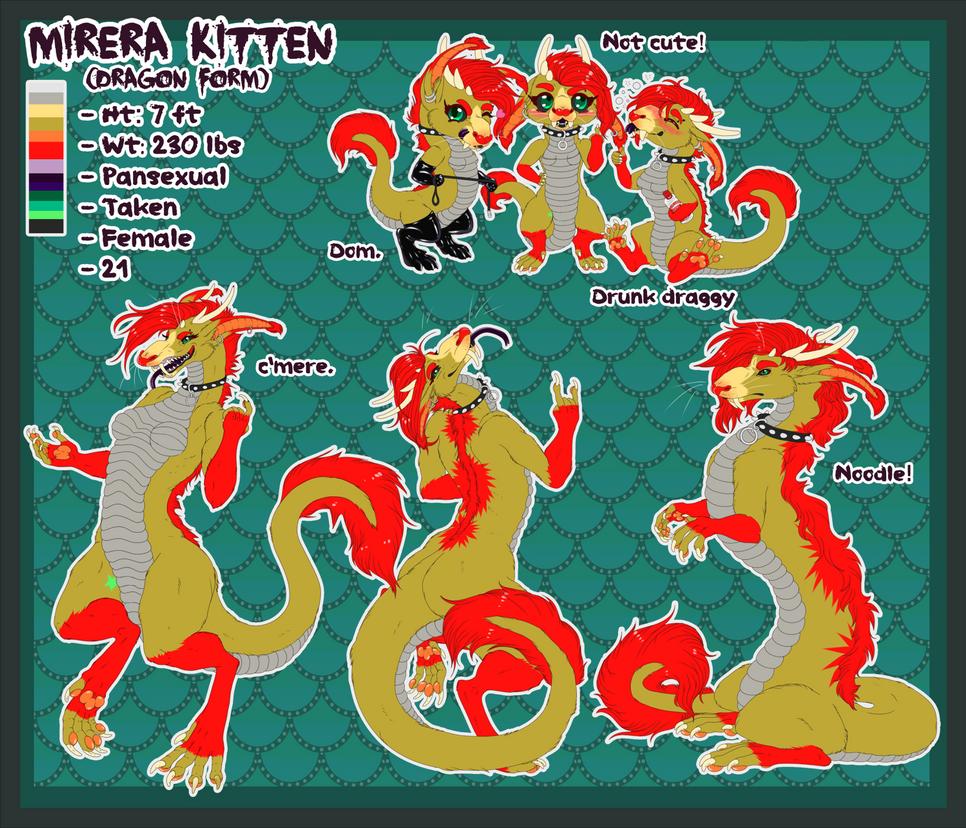 Mirera (dragon) ref 2014! by Mirera