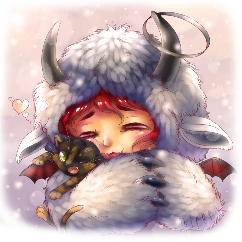 Just some ad'awwwable art of my avi on Gaia by Mirera