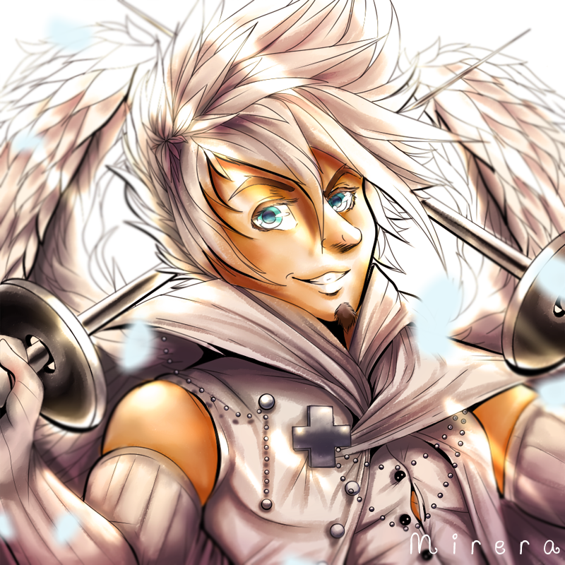 Angelic Swordsman by Mirera
