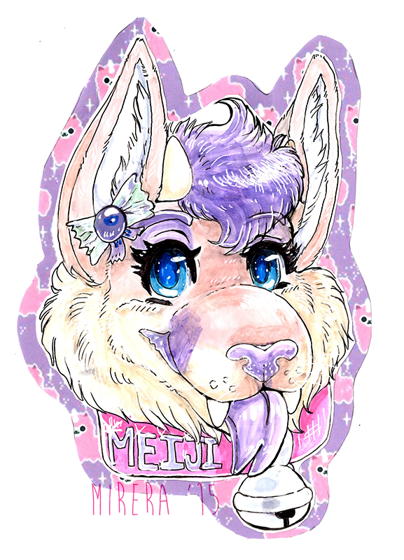 Meeeeiji badge! by Mirera