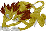 The Ketchum Sandslash Family of Azure Town