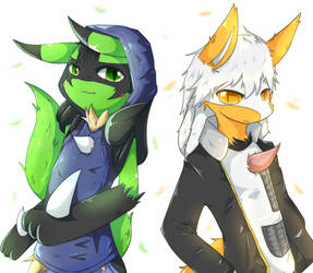 Cute brothers by JohnSergal