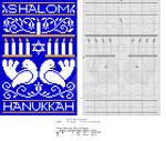 Hanukkah Sampler by NevaSirenda