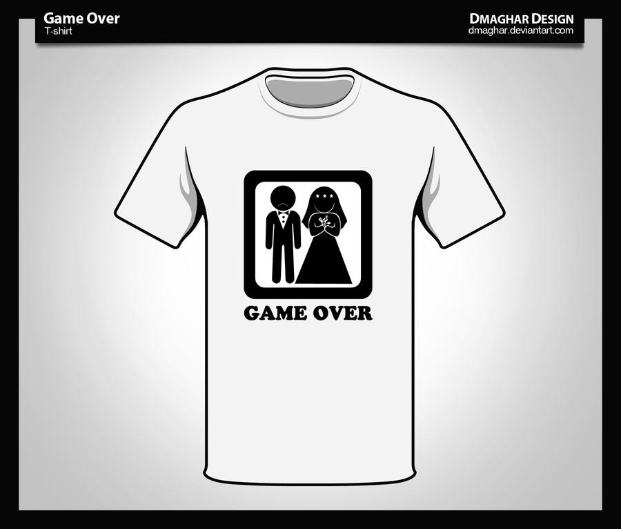 Game Over by Dmaghar