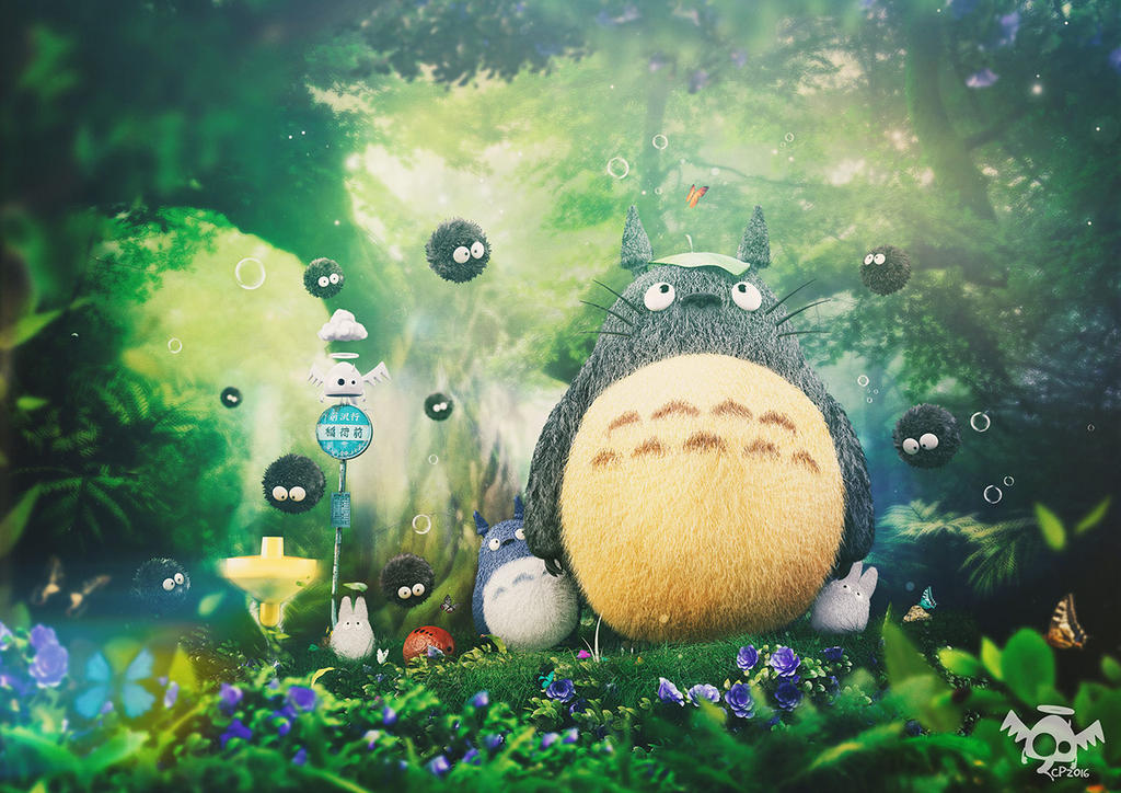 My Neighbor Totoro by Dmaghar