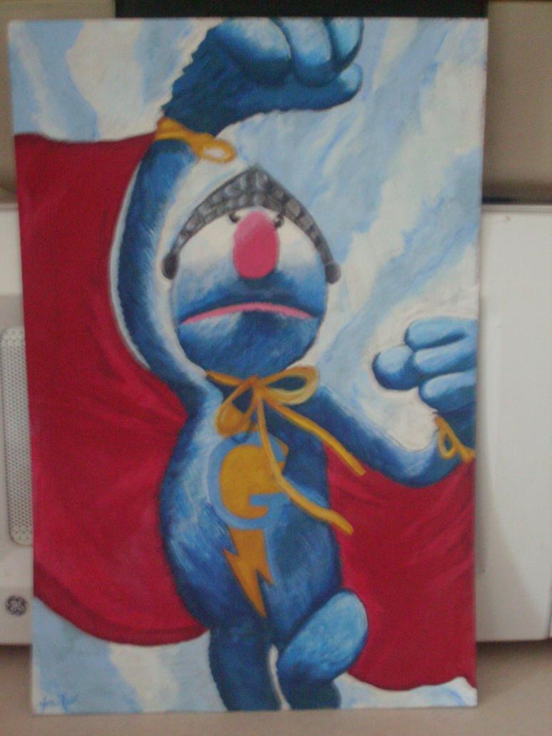 Super Grover by Chibi-Bitt