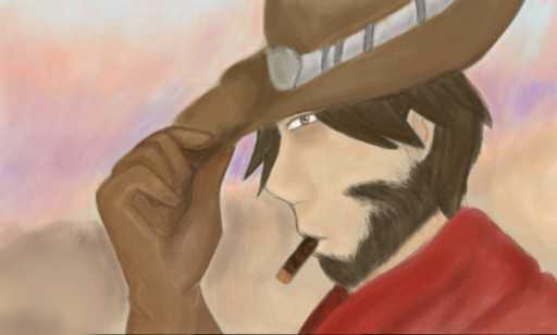 Its High Noon - Overwatch - Fanart by The-Phantom-Invader
