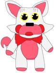 Toy Foxy plush pose