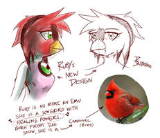 Ruby's New Face by ElsonWong