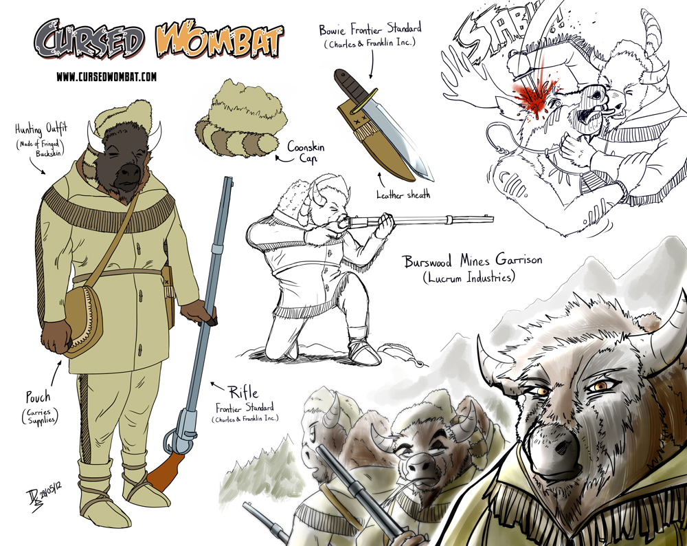 Cursed Wombat - Burswood Mines Garrison by ElsonWong