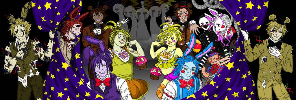 Favorite Animatronics Fnaf By Colourmix Deviantart