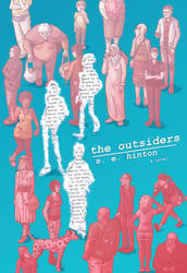 The Outsiders Re-Covered by simondrawsstuff