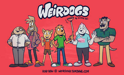 Weirdogs Cast by simondrawsstuff