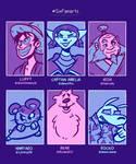 Six Fanarts!