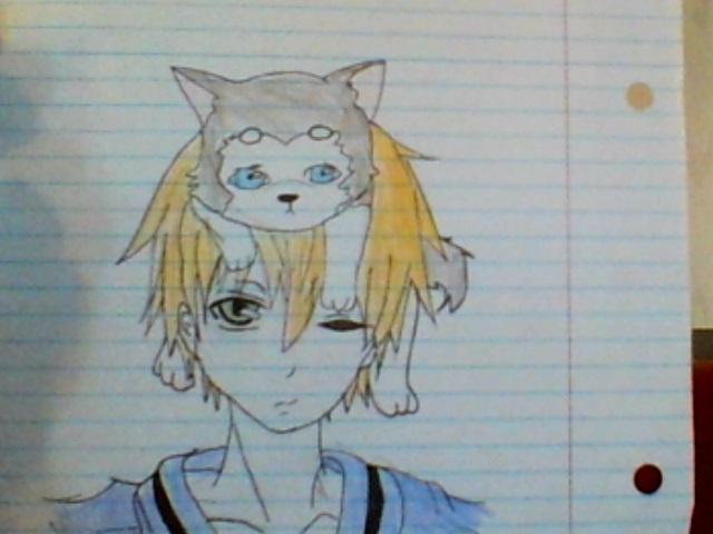 original character  dog+boy by Mr-Marf