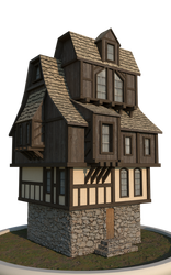Medieval Cottage by Perlin18