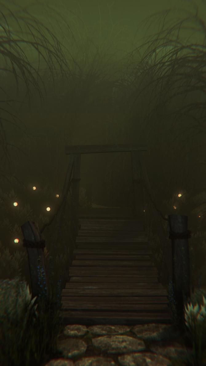Swamp Scene by Perlin18