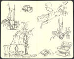 Sketchbook (2008/09): Page 1