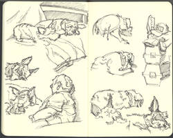 Sketchbook (2008/09): Page 12 by aka-Pencils