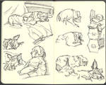 Sketchbook (2008/09): Page 12
