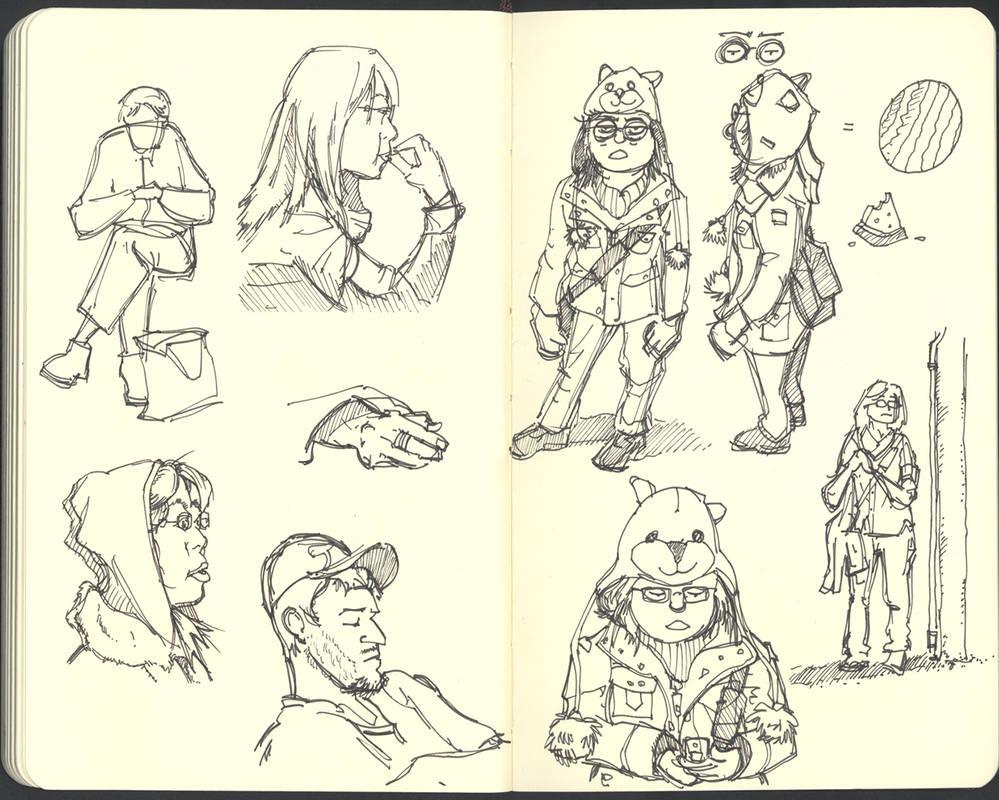 Sketchbook (2008/09): Page 21 by aka-Pencils