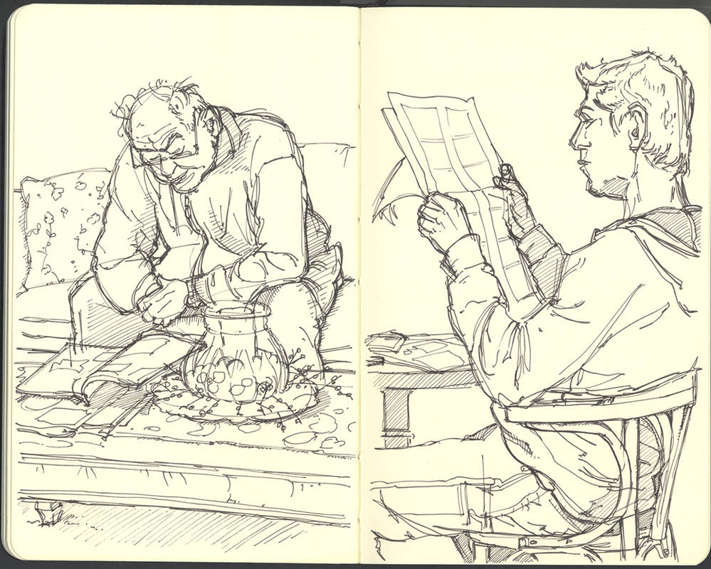 Sketchbook (2008/09): Page 32 by aka-Pencils