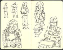 Sketchbook (2008/09): Page 5 by aka-Pencils