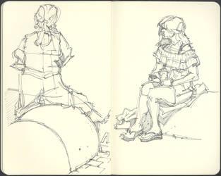 Sketchbook (2012/13): Page 8 by aka-Pencils