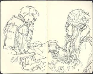 Sketchbook (2012/13): Page 10 by aka-Pencils