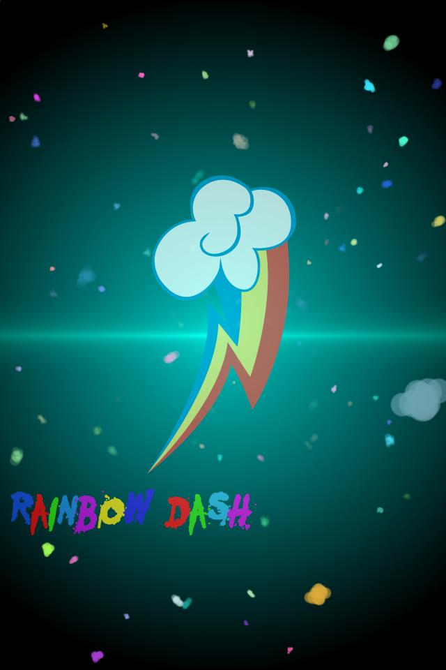 rainbow dash iphone wallpaper - photo #23