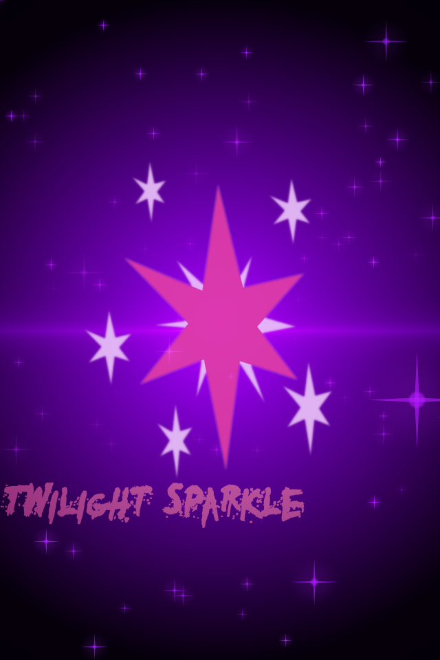 Twilight Sparkle IPhone Wallpaper By MidnightHuntsman