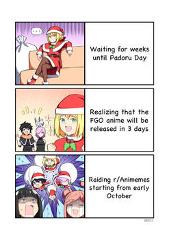 Solving the wait for Padoru Day