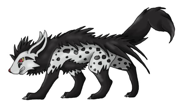Scaryena (Mightyena evolution) by TheStormUnleashed on ...