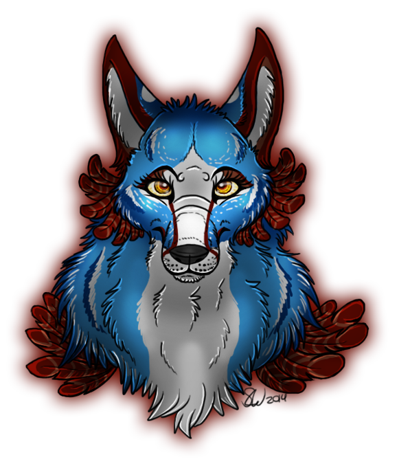 Wolf Character Bust by TheStormUnleashed