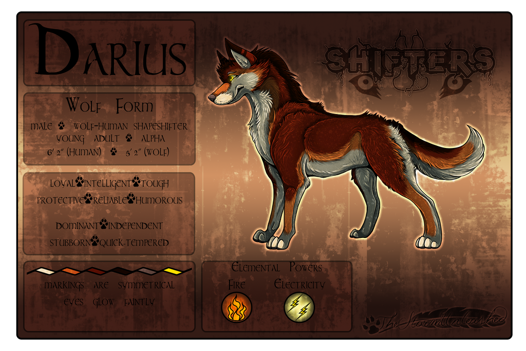 Darius Ref Sheet by TheStormUnleashed