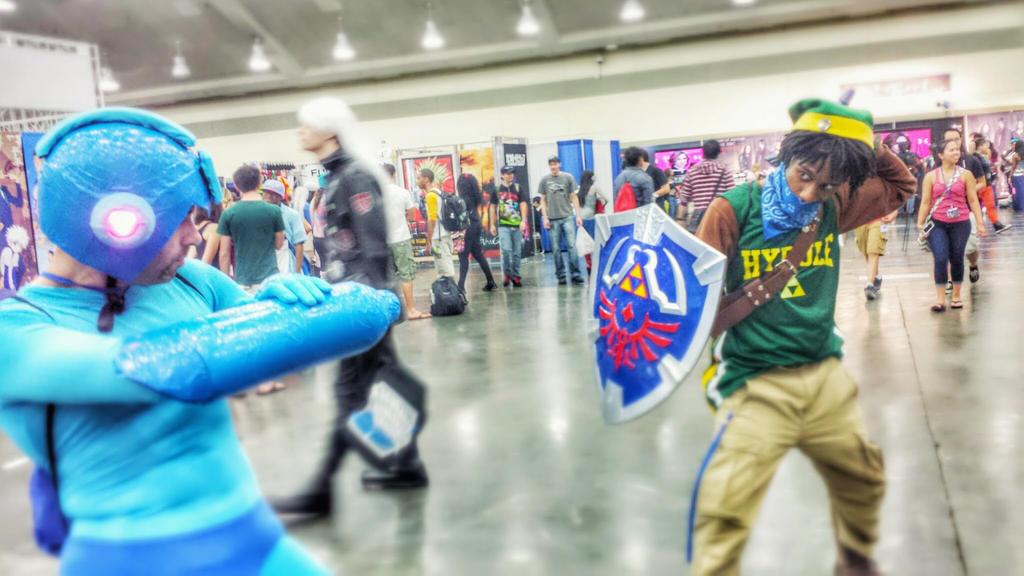Hood Link vs Megaman by King-Hauken