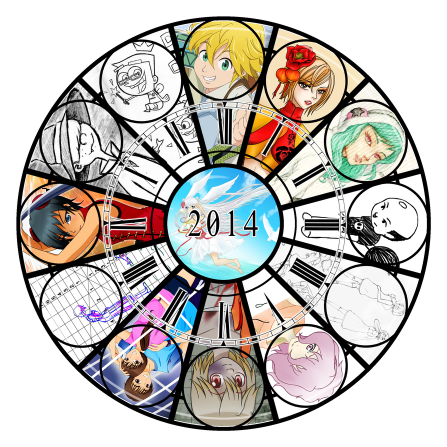 2014 Art Summary by hikari-uohime