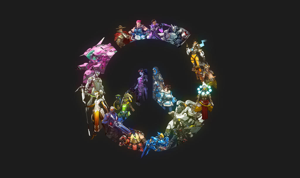 Overwatch Heroes Wallpaper By Rainyboy43 On Deviantart