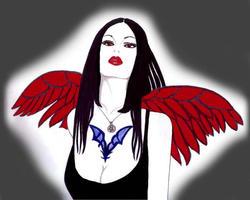 red wing by murasakinoue
