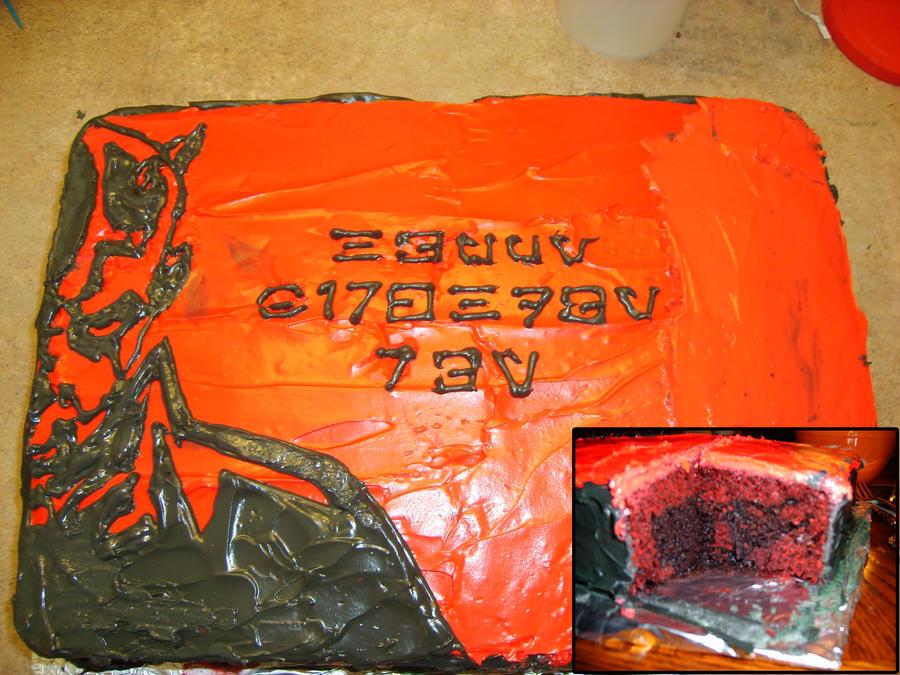 Darth Maul Birthday Cake By Phantomkat813 On Deviantart