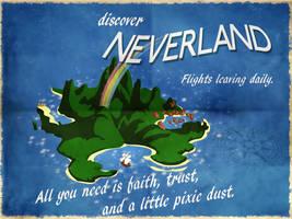 Discover Neverland by PhantomKat813