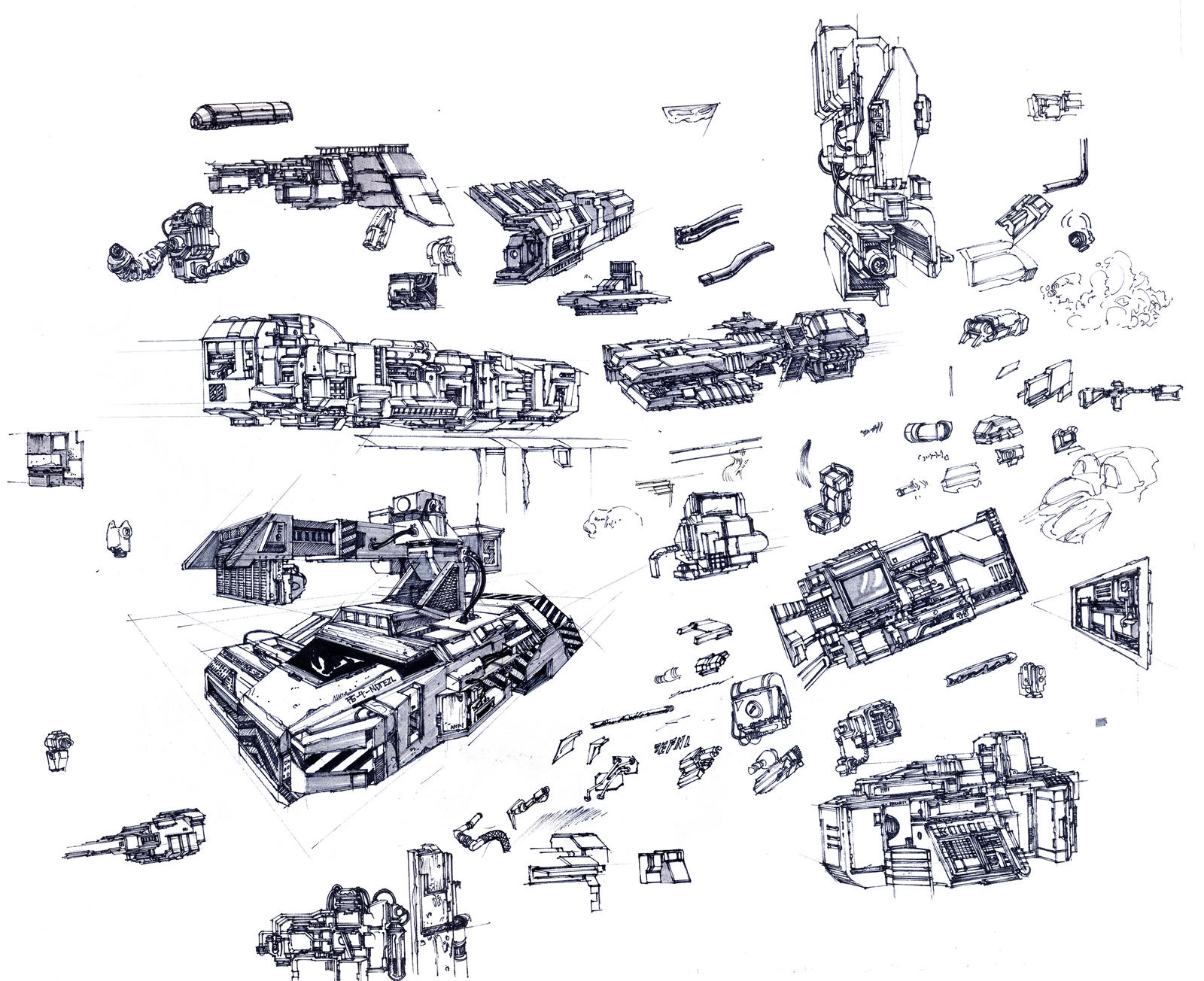 Sketchbook Page by SpireKat