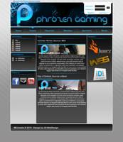 Phrozen Gaming by JeremDsgn