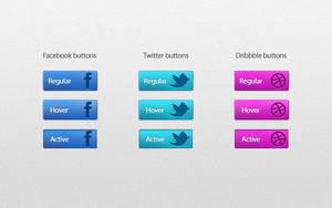 Social icons by JeremDsgn