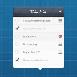 Todo List preview