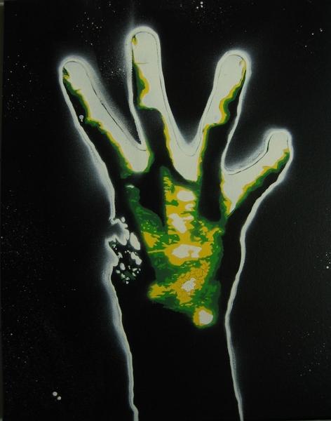 zombie hands left - photo #2