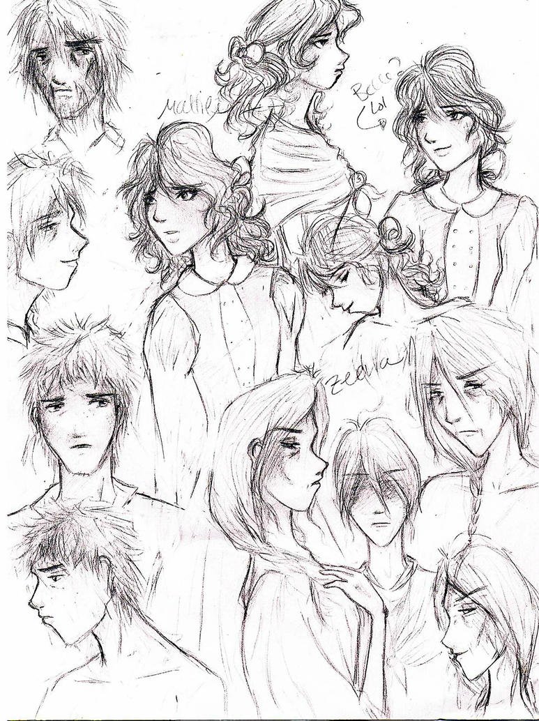browsing fan art on ethan frome character sketches by jbrinks
