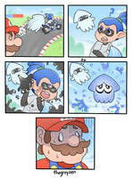 Squid Kart by thegreyzen