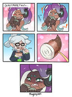 Octarians in their Ink by thegreyzen